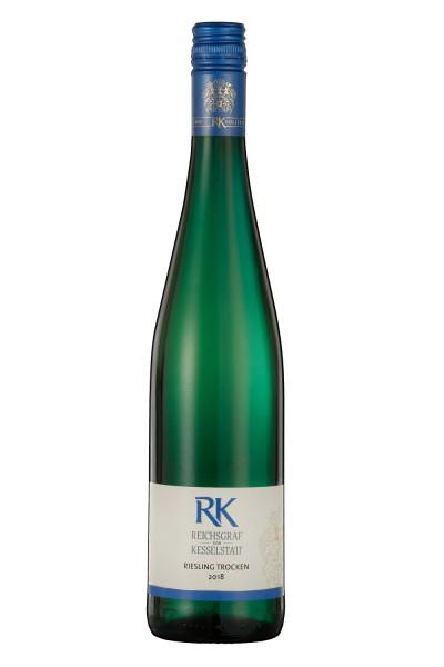 """Reichsgraf von Kesselstatt - """"RK"""" Riesling trocken QbA"""