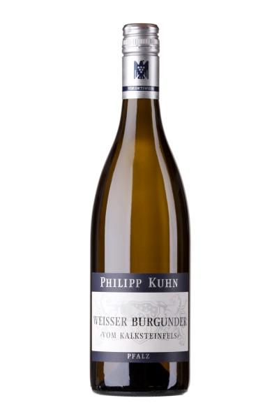 """Philipp Kuhn - """"vom Kalksteinfels"""" Weisser Burgunder trocken - Pfalz"""