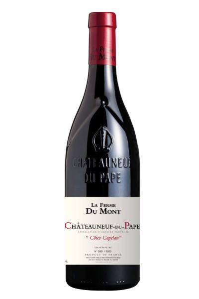 """La Ferme du Mont - """"Cote Capelan"""" Chateauneuf du Pape AOP"""