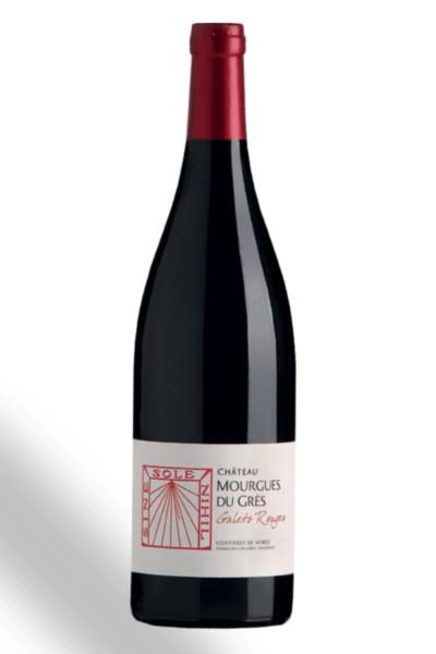 Chateau Mourgues du grès - Les Galets Rouges AOP BIO