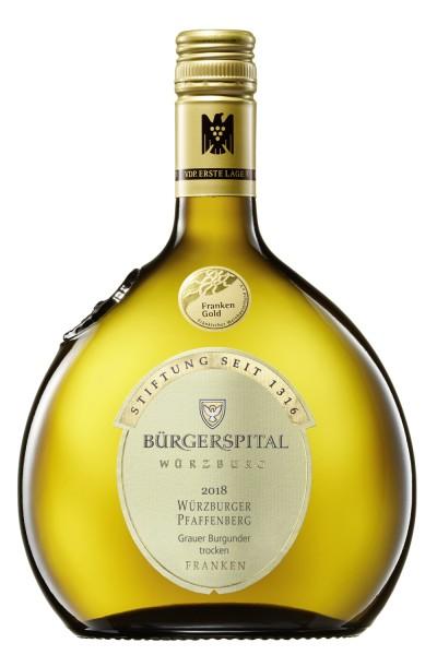 "Bürgerspital - ""Würzburger Pfaffenberg"" Grauer Burgunder VDP.Erste Lage"