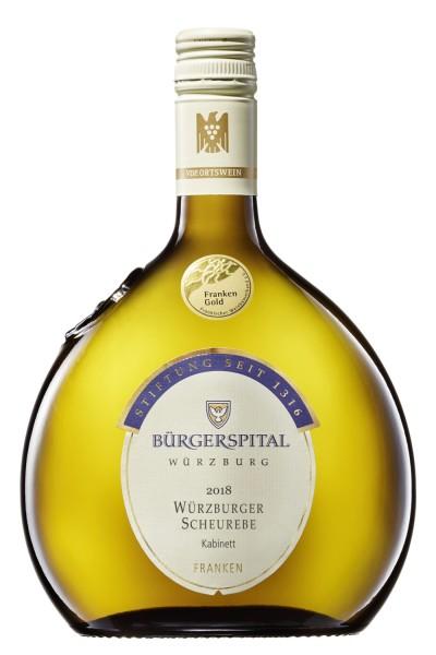 Bürgerspital - Würzburger Scheurebe Kabinett feinherb